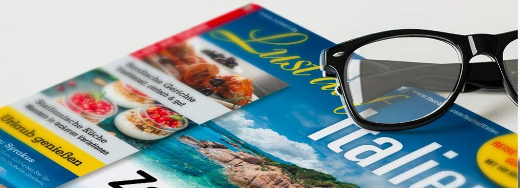 QM Publishing: Projekte - Lust auf Italien - Das Magazin